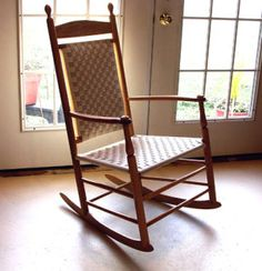 The rocking chair was a typical shaker furniture item. Shaker Furniture, Amish Furniture, Handmade Furniture, Home Furniture, Colonial America, Shaker Style, Everyday Objects, Furniture Styles, Simple House