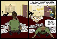 Episode 5 - Page 1 #elxn42 #elxn2015 #cdnpoli  #comics #TalkIsCheap