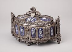 Kistje ter omhulling van een doosje met botsplinters afkomstig uit de linker schouder van de Prins van Oranje, later koning Willem II