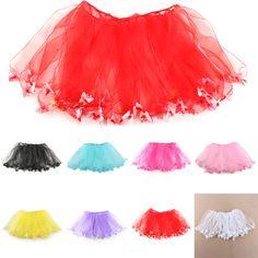 Купить товарДевочка дети 3D бабочки пачка ну вечеринку балет танец износа бальное платье юбка юбка костюм в категории Юбкина AliExpress.  Материал: полиэстер Цвет: черный, белый, розовый, светло-розовый, светло-фиолетовый, красный, озера синие, желтые Шабло