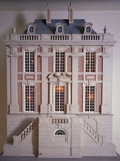 Dollhouse Miniatures : Château Margaux dollhouse  Share, Repin, Comment - Thanks!