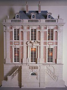 Dollhouse Miniatures : Château Margaux dollhouse  Share, Repin, Comment - Thanks!