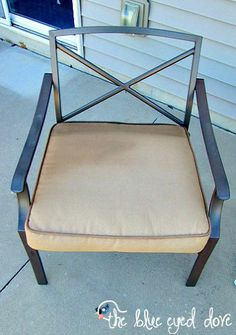 REDONE OLD PATIO CHAIR