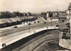 Le cours d'Estienne-d'Orves en 1950