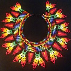 FREE Shipping / Native American bead work / by TRIBALMUNAYA
