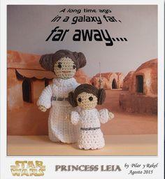 #amigurumi Star Wars Princess Leia                                                                                                                                                                                 Más