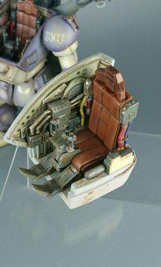 埋め込み Japanese Robot, Sci Fi Models, Sci Fi Armor, Robot Concept Art, Military Modelling, Gundam Model, Model Building, Miniture Things, Plastic Models