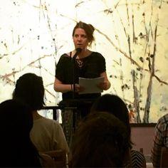 Katie Peterson reads a love poem.