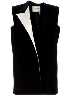 Lanvin   Monochrome Sleeveless Blazer  £1695.14