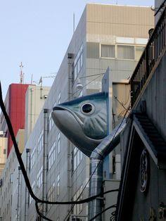 Tokyo's Tsukiji Fish Market in Japan Tsukiji, Nagoya, Osaka, Yokohama, Kyoto, All About Japan, Go To Japan, Amazing Pics, Land Art