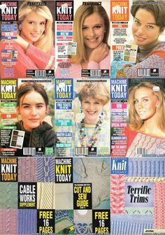 Rare Machine Knit Today Magazine Collection Free PDF Downloads