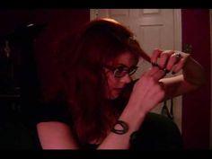 Vintage Pin curl hair tutorial pt. 2