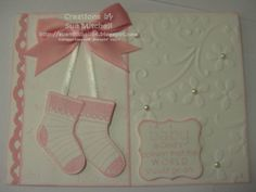 """Stampin' Up!, Australia - Sue Mitchell: Stampin' Up new product """"Sneak Peek"""" - Baby Boy & Baby Girl card ideas"""