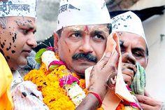 Arvind Kejriwal slapped, blames BJP for the blow