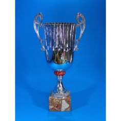 Beautiful metal cup on marble base. Trophies And Medals, Trophy Cup, Some Ideas, Marble, Range, Metal, Silver, Inspiration, Beautiful