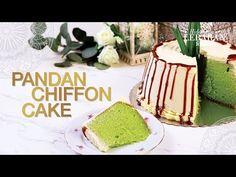 Kulit: Masukkan telur, gula, dan garam ke Lumpia Recipe, Pandan Chiffon Cake, Indonesian Cuisine, Cake Youtube, No Bake Desserts, Cake Designs, Cheddar, Vanilla Cake, Cake Recipes