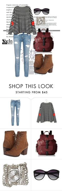 """""""Sweater"""" by woman-1979 ❤ liked on Polyvore featuring Current/Elliott, Madden Girl, Kenneth Cole Reaction, Sara Designs and Vince Camuto"""