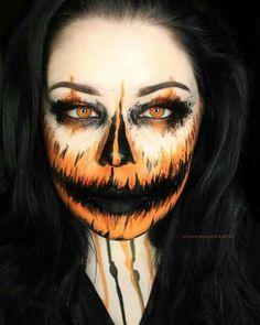Pumpkin facepaint
