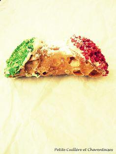 Petite Cuillère et Charentaises: Cannoli aux couleurs de l'Italie
