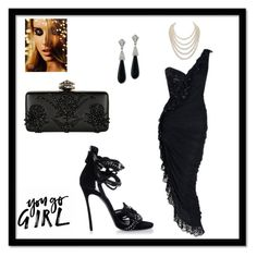 """beautiful"" by nihadniks ❤ liked on Polyvore featuring Azzaro, Kenneth Jay Lane, Dsquared2, DaVonna and Alexander McQueen"