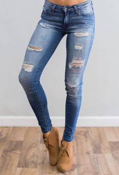 Darkstone Kan Can Skinny Jean Clothing, Shoes & Jewelry : Women : Top Brands : Jeans for women Shorts, Jeans Pants, Denim Jeans, Torn Jeans, Jeans Leggings, Womens Ripped Jeans, Skinny Jeans, Jeans Women, Jean Outfits