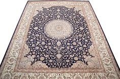 Among the finest handmade oriental rugs ever made, Isfahan rugs are the summum of the Persian carpet. In an enchanted city, renowned for its taste and finesse, these carpets are of great delicacy and utmost intricacy.  http://www.alrug.com/4286