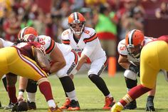 Photos: Browns vs Redskins - 1st Half - QB Cody Kessler takes the snap.