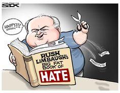 Steve Sack: Rush Limbaugh