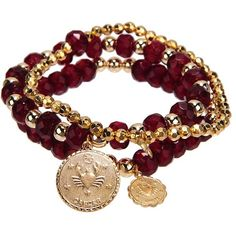 Bee Charming Jewelry Zodiac Bracelet ($44) ❤ liked on Polyvore featuring jewelry, bracelets, accessories, pulseiras, bracelets & bangles, ruby, women, hinged bracelet, hinged bangle bracelet and bracelet bangle
