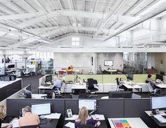 Oficinas: estrategias de ocupación del espacio, Design Yard: Headquarter de Herman Miller en Michigan (USA). Image vía Herman Miller