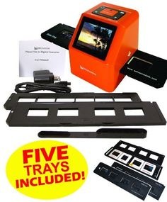 Wolverine F2D20 20 MP 35mm Slides, 110 Film and Negatives to Digital Image Converter (Includes 5 Total Trays: 4 Silde Trays & 1 Negative Film Tray) 110V-220V by Wolverine. $139.97. Now you can take all those stacks of 35mm slides and negatives and convert them into digital images to share and preserve them forever. Wolverine has created a very simple to use device to convert all your 35mm film into a 20 megapixel digital images in seconds.  So simple to use, it only...