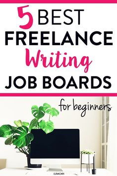 The 5 Best Job Boards for a New Freelance Writer - Elna Cain Online Writing Jobs, Freelance Writing Jobs, Writing Advice, Career Advice, Business Checks, Business Tips, Tips Online, Business Motivation, Work From Home Jobs