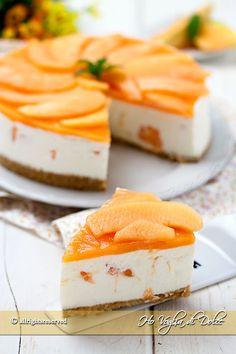 Cheesecake al melone Cheesecake Torta, Cheescake Recipe, Cheesecake Desserts, Cooking Cake, Cooking Recipes, Cake Recipes, Dessert Recipes, Torte Cake, Sorbets