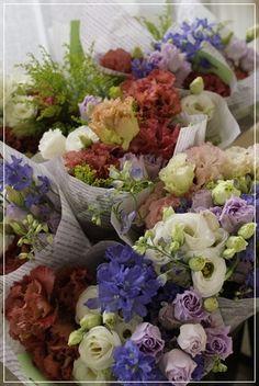 【花束定期便】春のコースのお花達と声|Flower note の 花日記 (横浜・上大岡 アレンジメント教室)