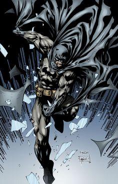 Batman in Color 2 by ~ernestj23 on deviantART