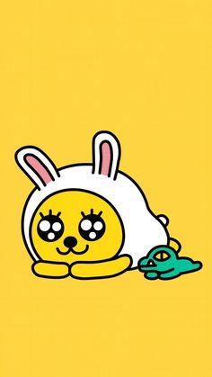 카카오프렌즈 무지&콘 Idea Paint, Kakao Friends, Friends Wallpaper, Line Friends, Cute Wallpapers, Cartoon Characters, Iphone Wallpaper, Korea, Character Design