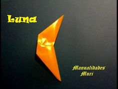 Origami - Papiroflexia. La luna fácil