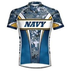 2b1302704 U.S. NAVY USN Cycling Jersey Men s by Primal Wear Choice of Size Cycling  Jerseys
