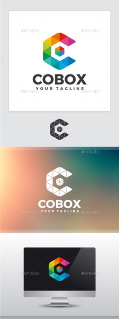 Color Box Letter C - Logo Design Template Vector #logotype Download it here: http://graphicriver.net/item/color-box-letter-c-logo/11287697?s_rank=955?ref=nexion