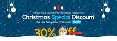 #Christmas Special Logo Design Deal – 30% Off