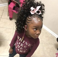 From cute pigtails to buns & twist braids, there's so much variety when it comes to kids hairstyles. Try these cute little black girl hairstyles for your girl! Lil Girl Hairstyles, Black Kids Hairstyles, Natural Hairstyles For Kids, Kids Braided Hairstyles, Natural Hair Styles, Kids Crochet Hairstyles, Little Girl Braids, Black Girl Braids, Braids For Kids
