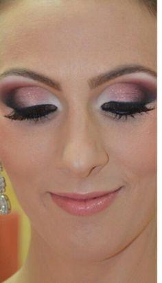 Maquiagem rosa,noiva.