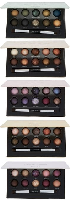 Laura Geller Wardobe of Delights 5 Palette Shadow Library for Holiday 2016