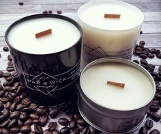 Make your home smell like a craft coffee shop by lighting one of these espresso scented candles. These 100% soy wax candles features a sultry dark roasted coffee scent and come in either an 8 ounce candle or a larger 10 ounce candle with a 50 hour burn time.