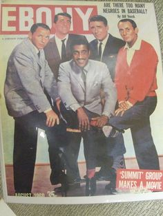 AUGUST 1960 COVER OF EBONY MAGAZINE ...