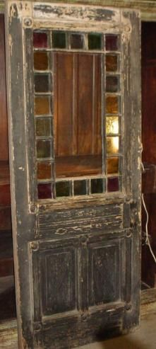 Doors And Old Shutters Are A Great Way To Add Architectural Interest To A Room. I Have Even Hung Room Dividers On The Wall. Don't be Afraid To Use These In Unconventional Ways~