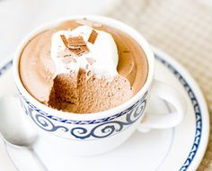 Meet the adult version of the classic and elegant chocolate mousse.