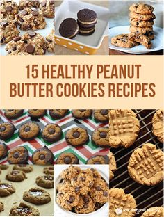 """Alright, so I don't know about you guys but I REALLY LOVE peanut butter anything! It is so delicious and cookies are definitely a weakness when it comes down to it. I really didn't want to """"have"""" to give up peanut butter cookies to live a healthier lifestyle so I went on a search to …"""