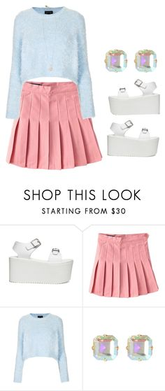 """""""M"""" by biebersqueen15 ❤ liked on Polyvore featuring Topshop and Scotch & Soda"""