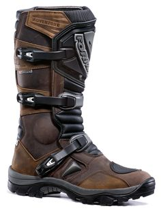 Forma Motocross Boots - Adventure. Brown.